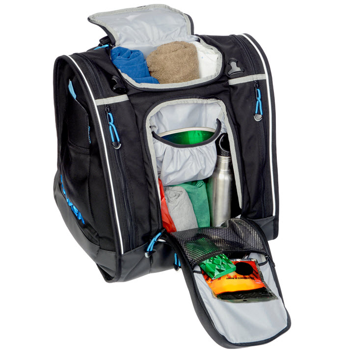 Best Ski Boot Bag Storage Kulkea Boot Trekker Black Blue