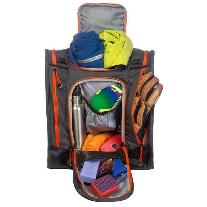Best Ski Boot Bag Storage Kulkea Boot Trekker Grey Black Orange