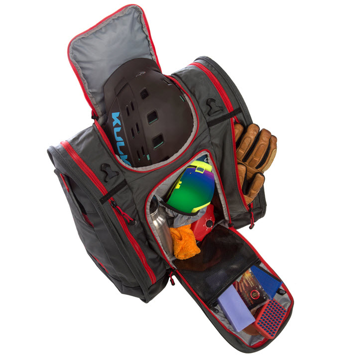 Best Ski Boot Bag Storage Kulkea Boot Trekker Grey Black Red
