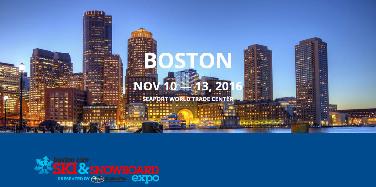 The Boston Ski & Snowboard Expo 2016