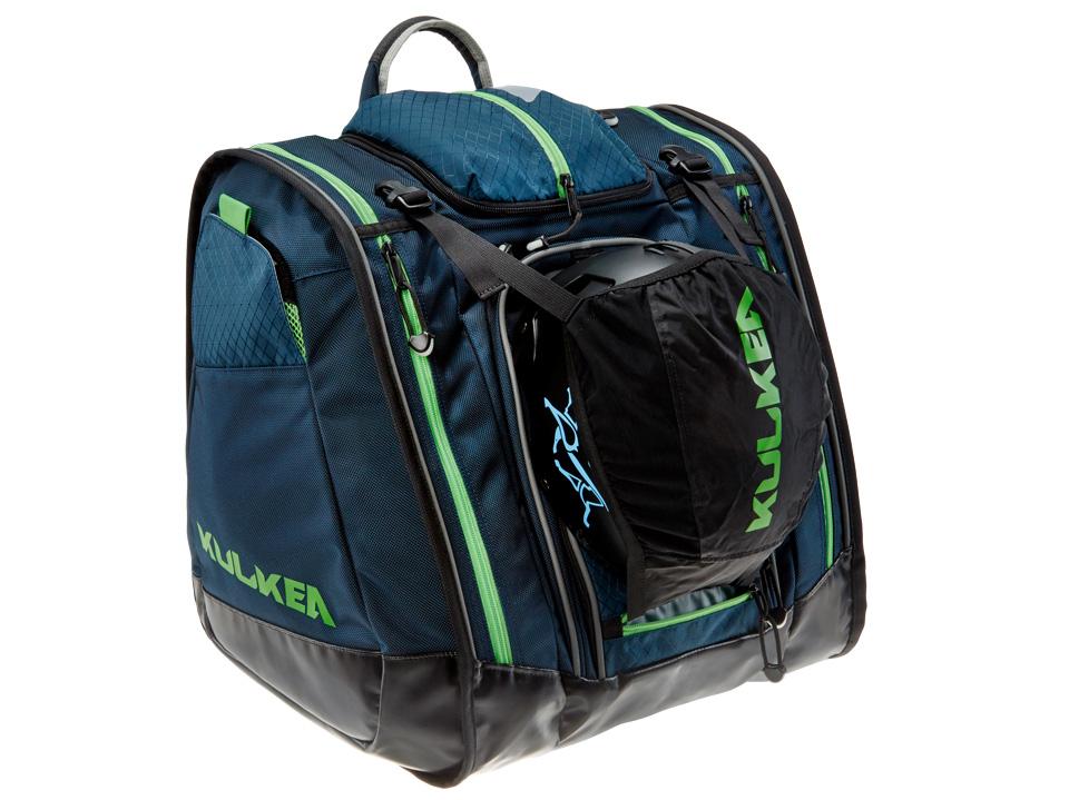 Kulkea Ski Boot Trekker Bag Cobalt Blue Green
