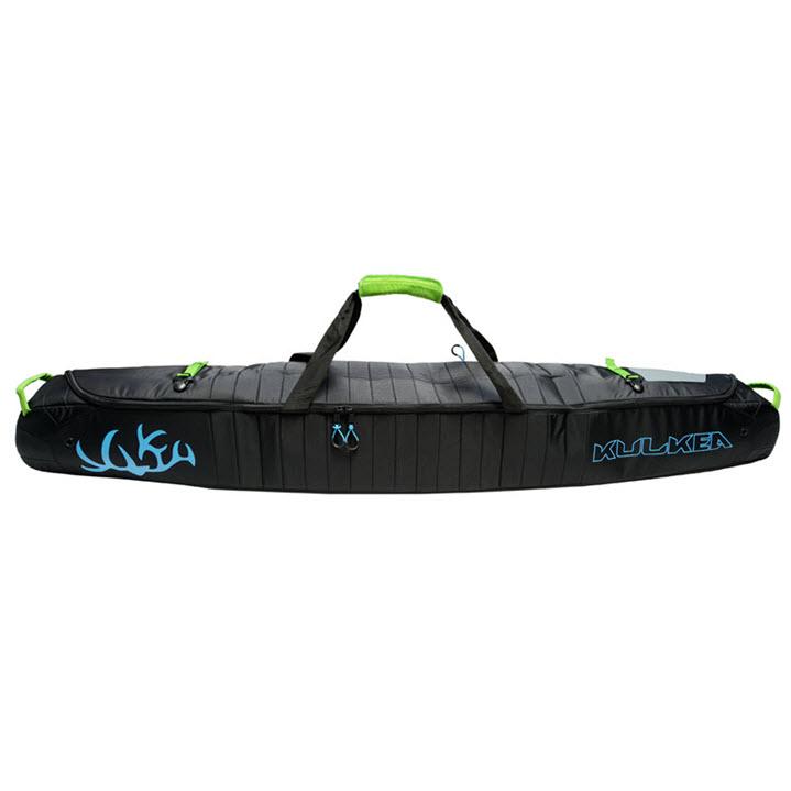 Padded Ski Bag Kulkea Kantaja Black Blue