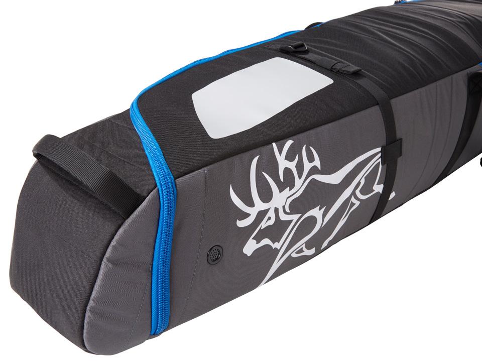 Padded Ski Bag New Kulkea Kantaja Black Grey