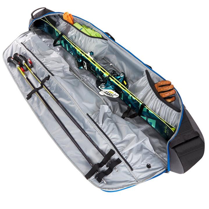 Padded Ski Carrier Bag 2020 Kulkea Kantaja Black Grey