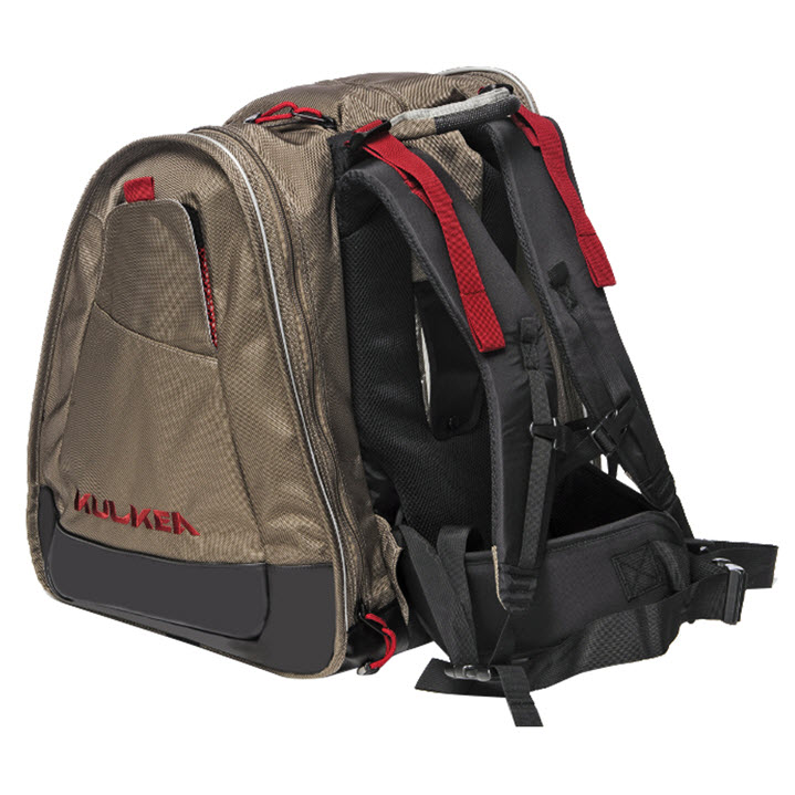 Ski Boot Backpack Bag Kulkea Boot Trekker Tan Black Red