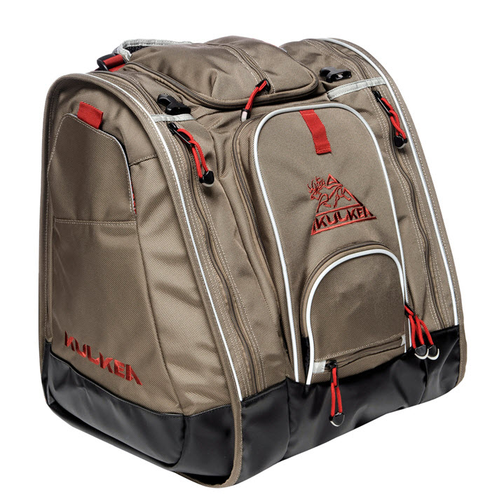 Ski Boot Bag Kulkea Boot Trekker Tan Black Red