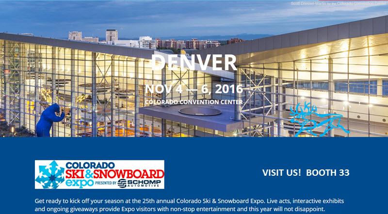 Denver Ski Snowboard Expo 2017 Kulkea