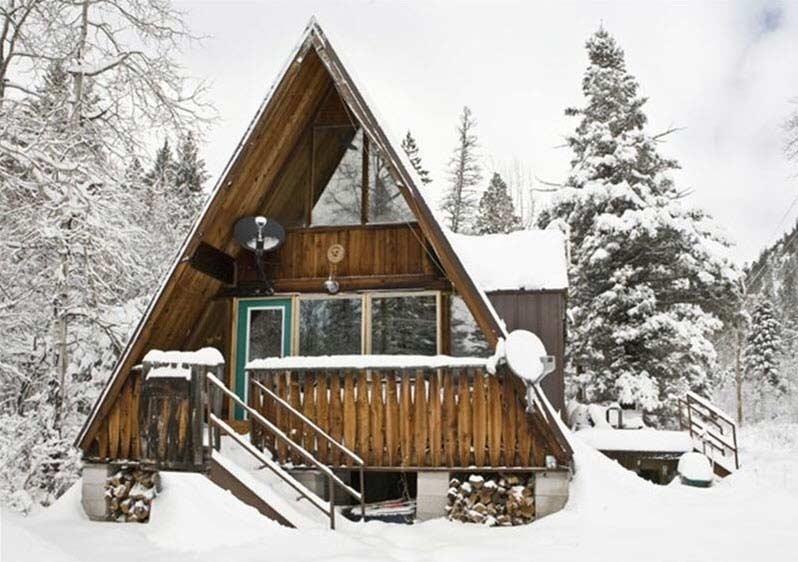 Ski House A Frame Kulkea