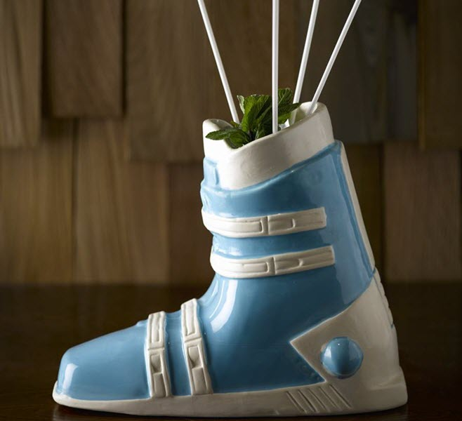 Ski Apres Cocktail Boot Bespoke Barware Kulkea