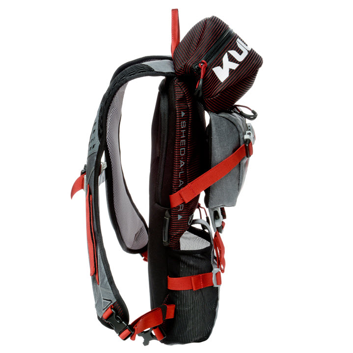 Day Hike Backpack Micro Pack Kulkea Red