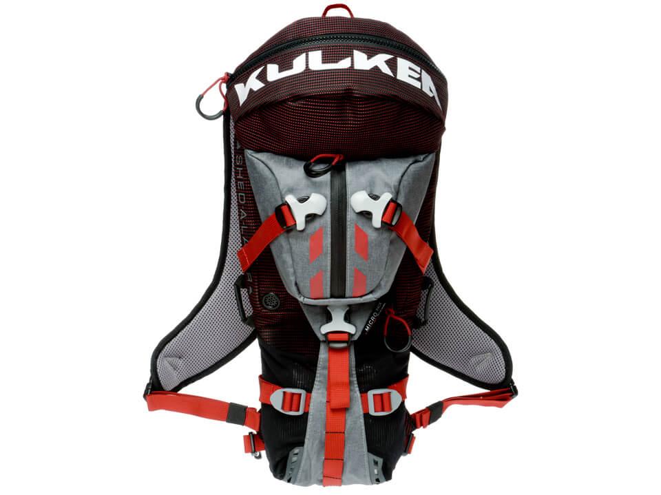 Micro Pack All Terrain Backpack Smoke Grey Red Kulkea 5251