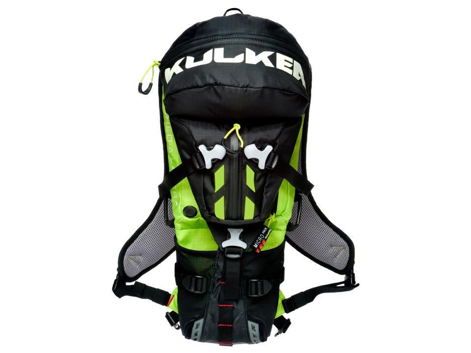 Micro Pack All Terrain Backpack Smoke Neon Green Kulkea 5193