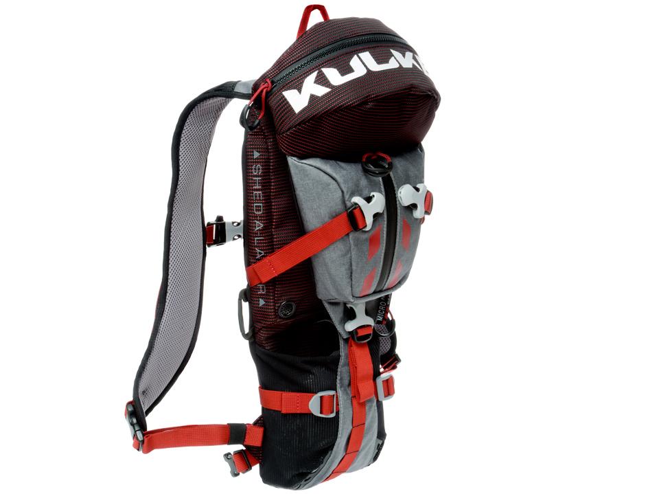 Micro Pack Multi Sport Backpack Red Grey Kulkea 5253