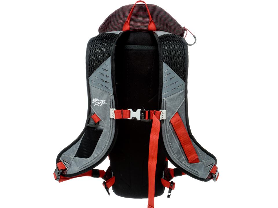 Multi Sport Backpack Kulkea Micro Pack Grey Red 5261