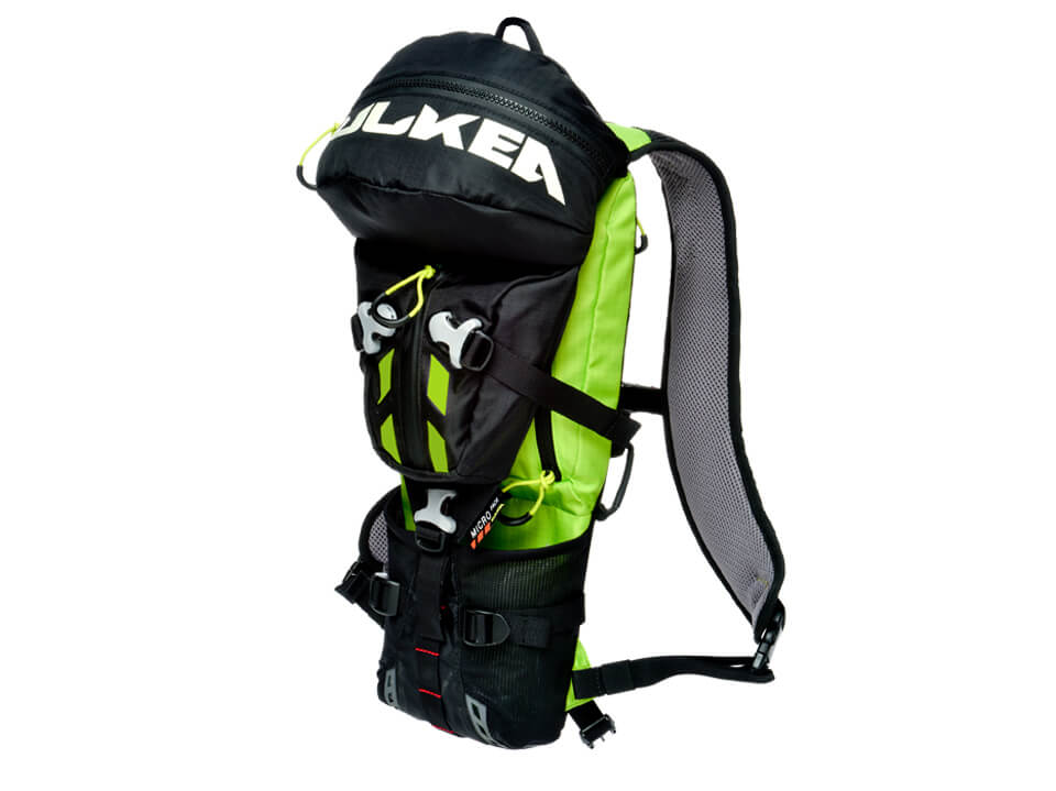On Mountain Backpack Micro Pack Neon Green Kulkea 5214
