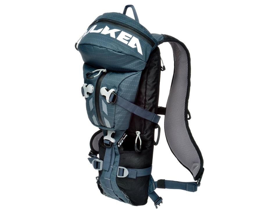 Ski Backpack Micro Pack Blue Black Kulkea 5238