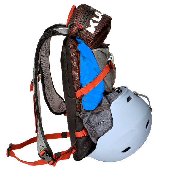 Ski Trail Daypack Kulkea Micro Pack Red