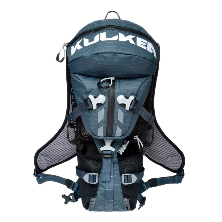 Small Active Sport Backpack Kulkea Micro Pack Blue Black