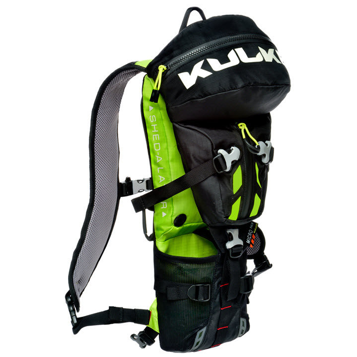 Small Active Sport Backpack Micro Pack Neon Kulkea