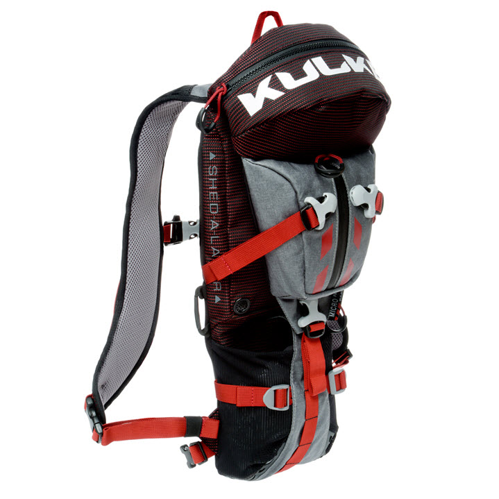 Small Active Sport Backpack Micro Pack Red Kulkea
