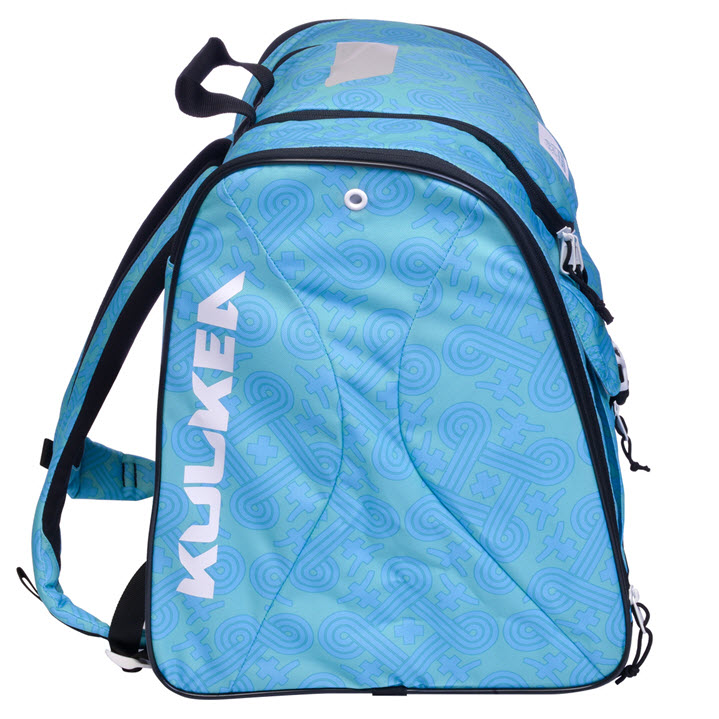 Green Blue Pattern Womens Ski Boot Bag Talvi X Kulkea