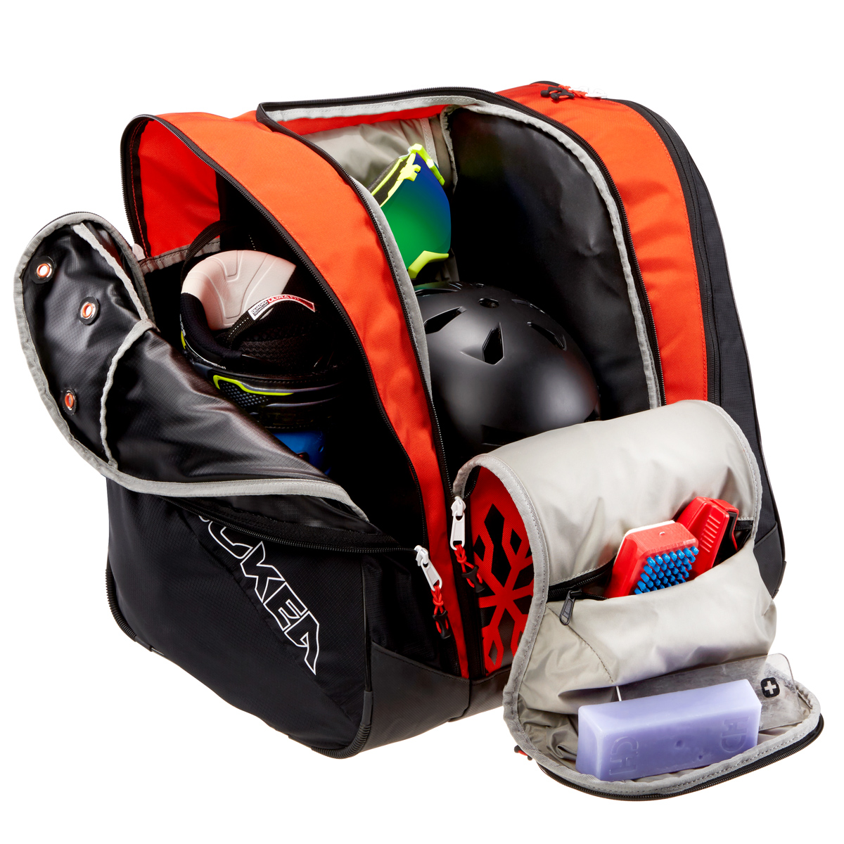 Kulkea Racer Red Ski Boot Bag Racing Storage