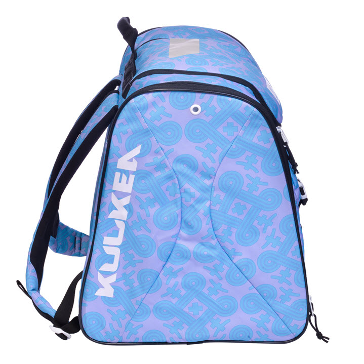 Lavender Blue Pattern Womens Ski Boot Bag Talvi X Kulkea