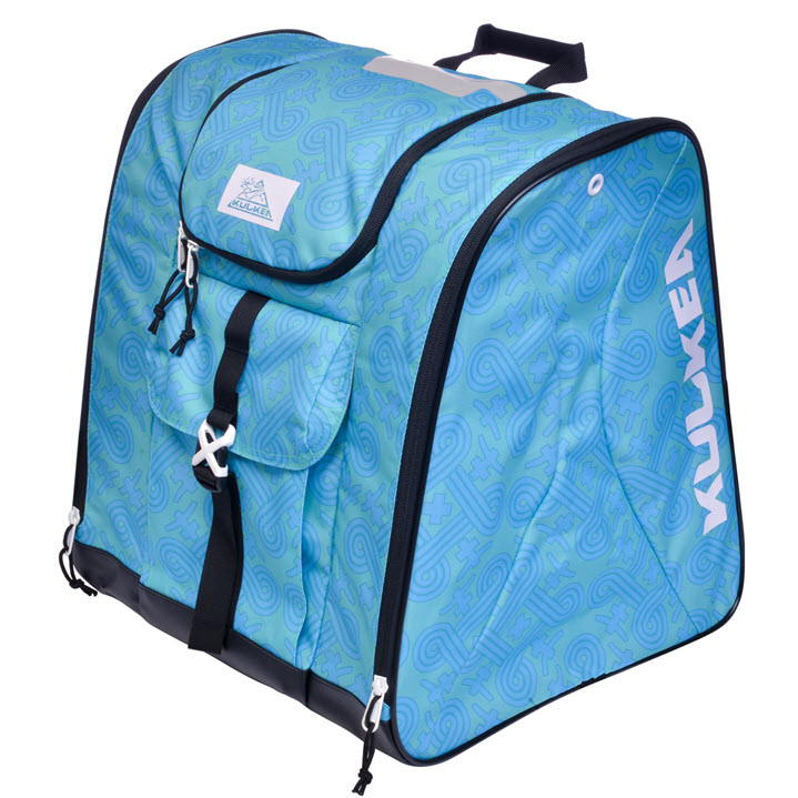 New Womens Ski Boot Bag Kulkea Talvi X Green Blue
