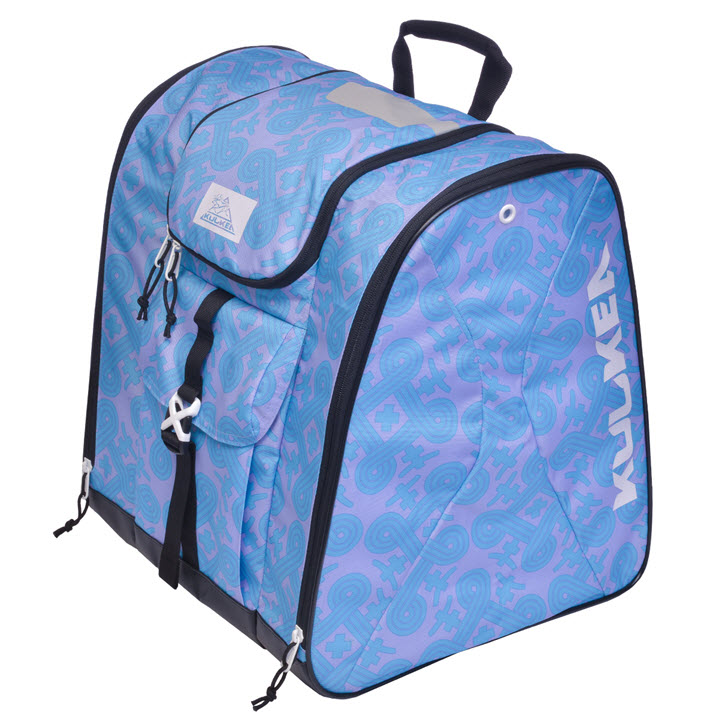 New Womens Ski Boot Bag Kulkea Talvi X Lavender Blue