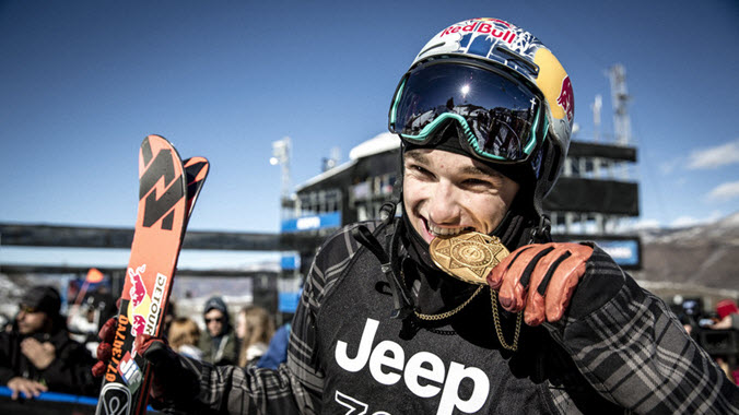 Nick Goepper Kulkea Athlete Slopestyle X Games Gold