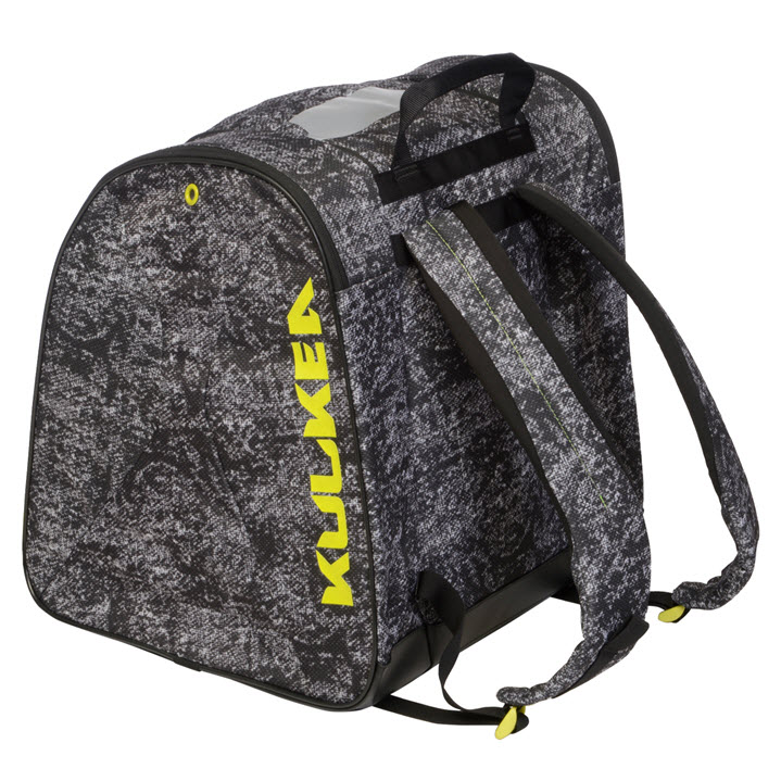 Ski Boot Backpack Support Kulkea Talvi X Black Yellow