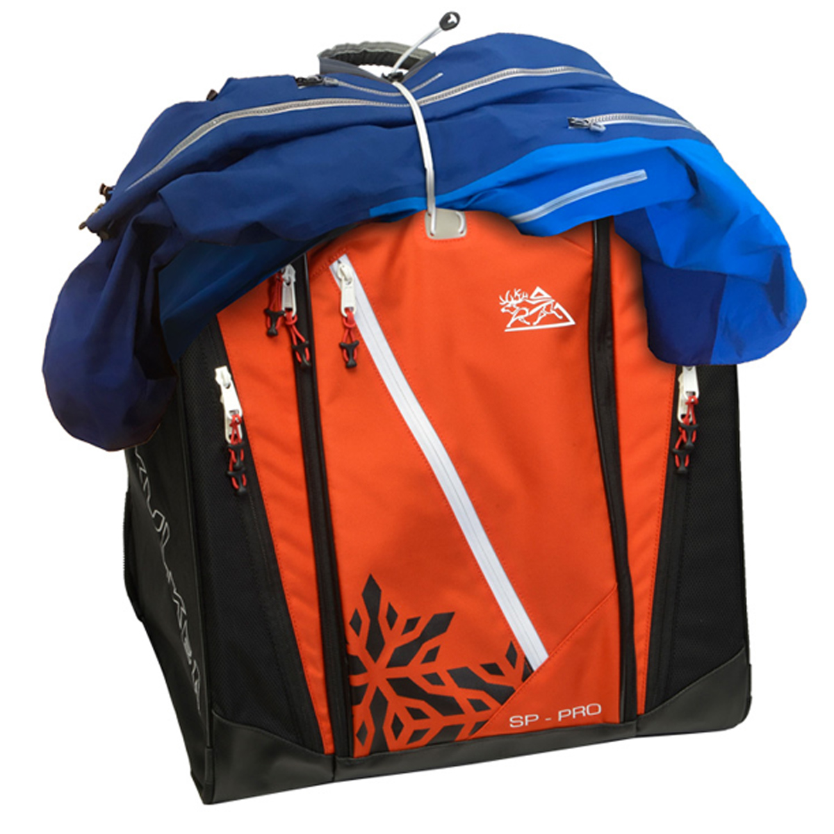 Ski Boot Bag Jacket Sp Pro Red Kulkea