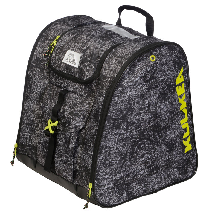 Ski Boot Bag Kulkea Talvi X Black Yellow