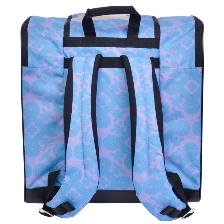 Womens Ski Boot Bag Support Talvi X Lavender Blue