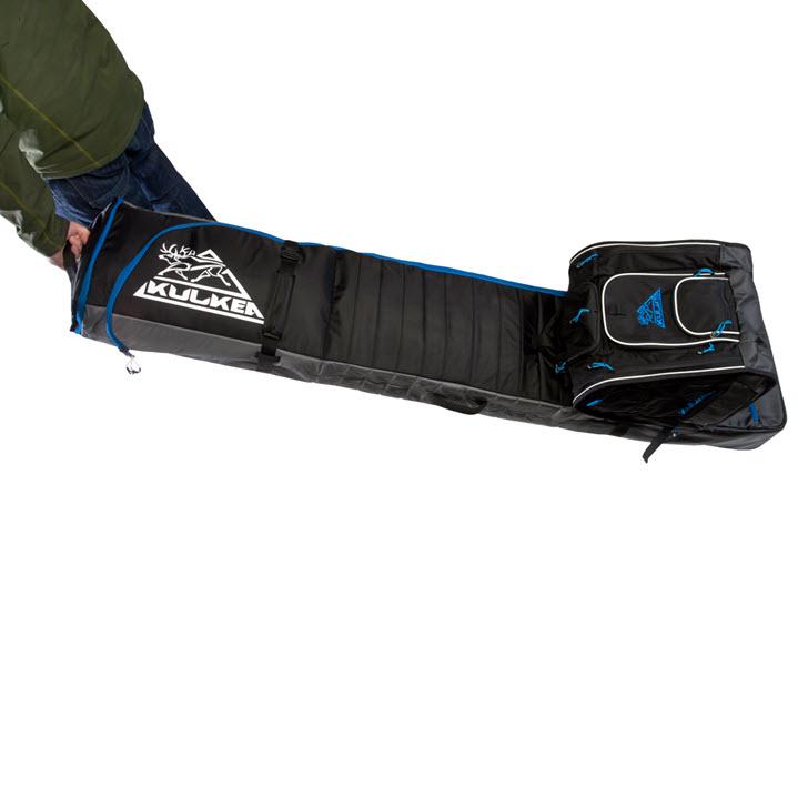 Double Roller Ski Bag Hitch Kulkea Kantaja