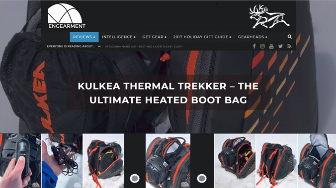 Ultimate Heated Boot Bag Review Engearment Kulkea Thermal Trekker Ski