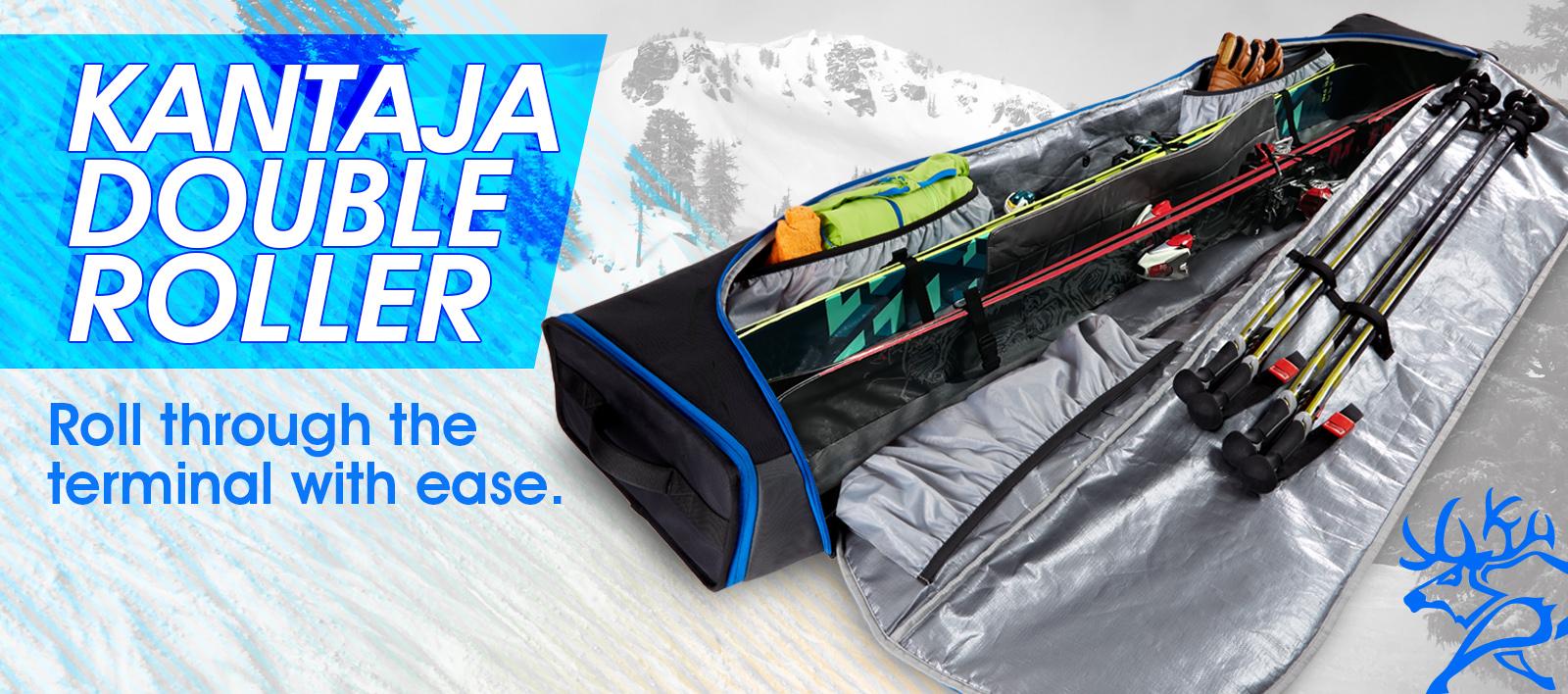 Kulkea Wheeled Ski Boot Bag
