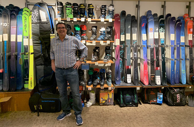 Local ski shop