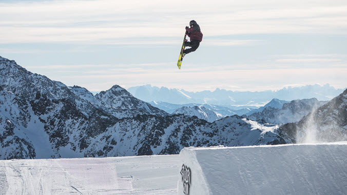 John Brown Slopestyle Stubai Kulkea