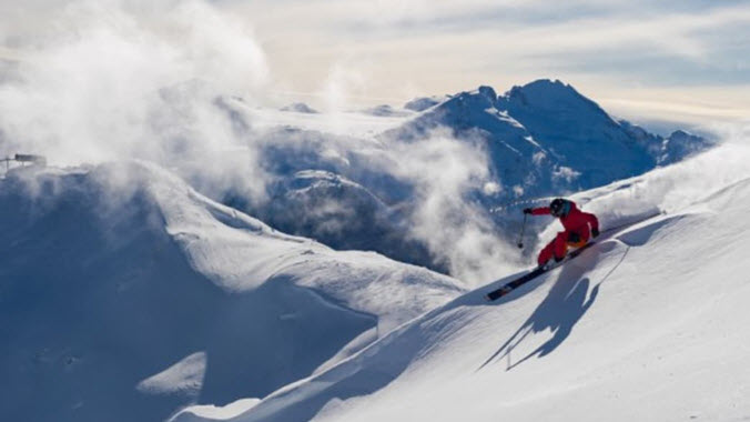 Skiing Whistler Blackcomb