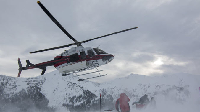 Heli Skiing Brittish Columbia