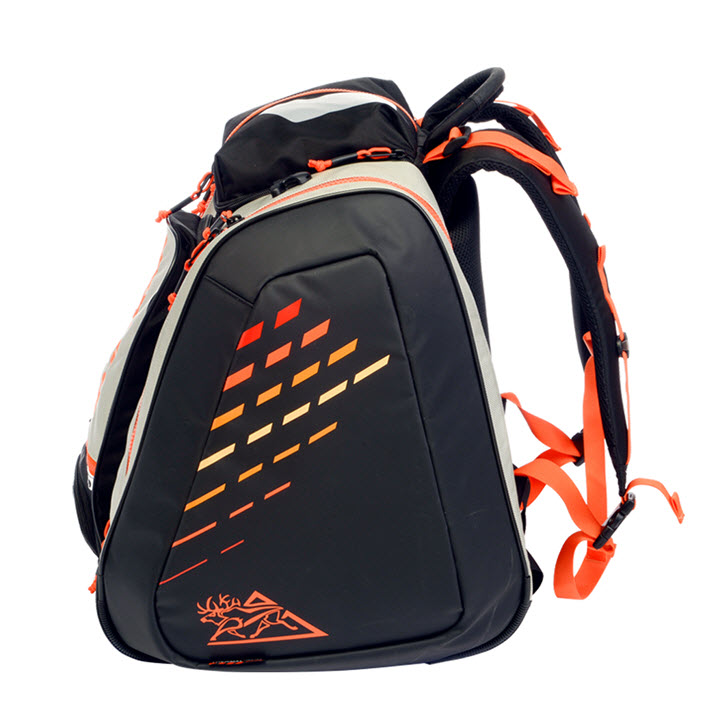 Heated Ski Boot Backpack Kulkea Thermal Trekker Orange