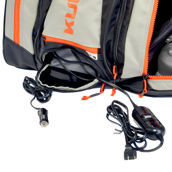 Heated Ski Boot Bag Electrical Thermal Trekker Kulkea Orange