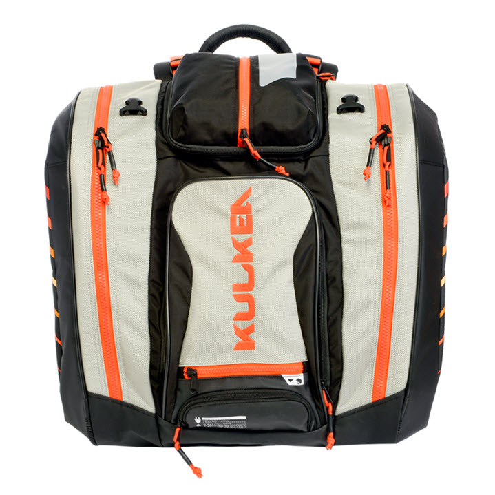 Kulkea Heated Ski Boot Bag Thermal Trekker Orange