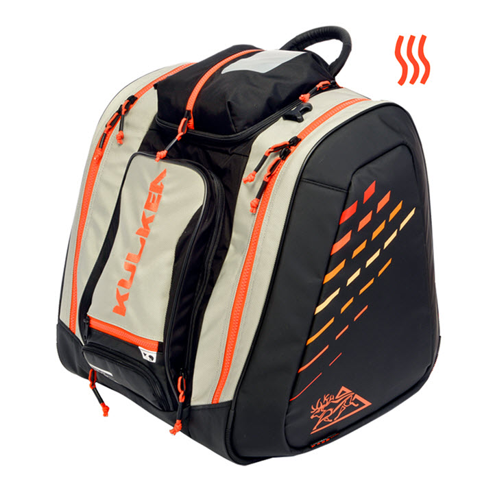 Kulkea Thermal Trekker Heated Ski Boot Bag Orange