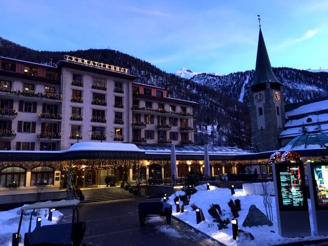 Zermatt Switzerland Ski Town