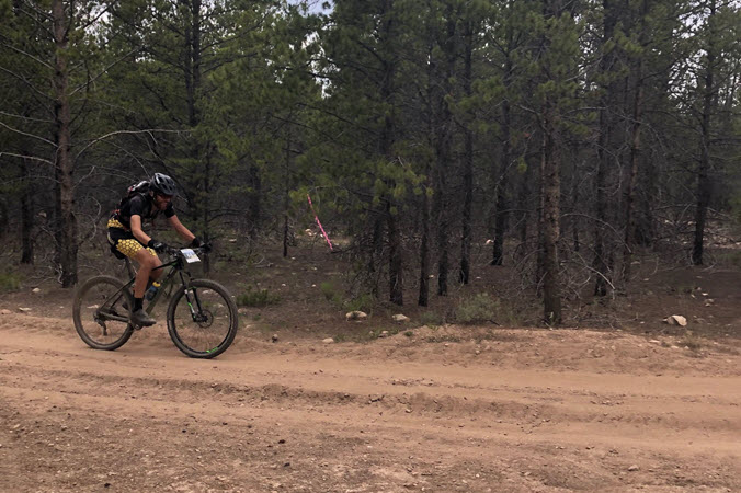 Dan Gump Leadville Series Race Kulkea