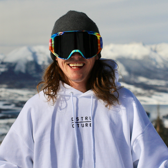 Luke Hagearty Lupe Kulkea Athlete freeskier