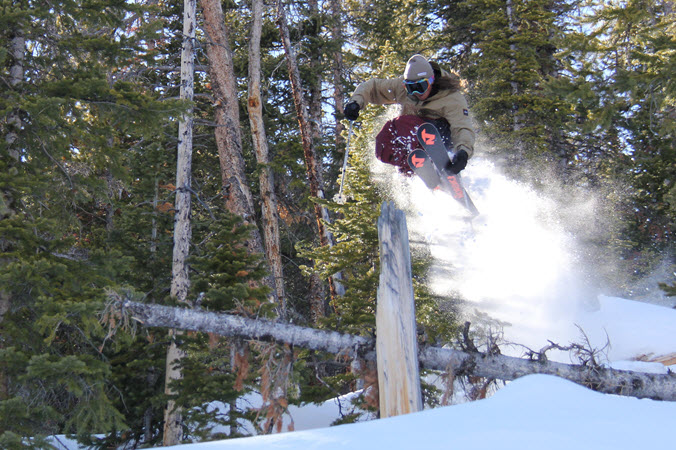 Skier Lupe Hagearty Is Blazing His Own Trail