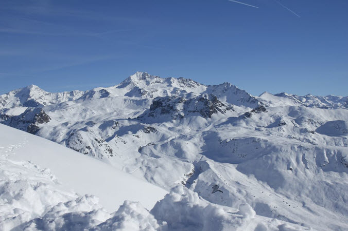 Les Arcs France Ski Runs